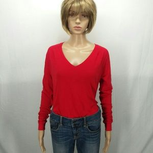 PINK Womens Red T-Shirt Size XS